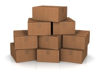 Packing Boxes - Freight Storage